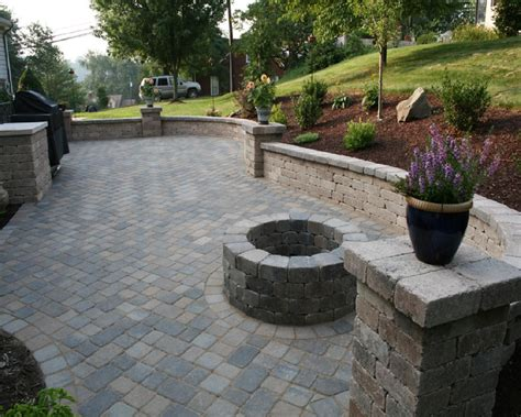 Interlocking Brick Patio by Project Plan For Ppaver Steps Home Interlocking