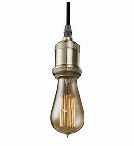 Nostalgic bare pendant light fixtures