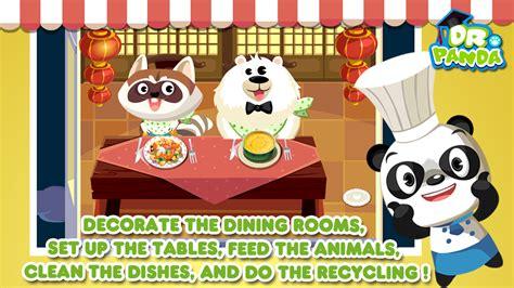 jeu de cuisine restaurant dr panda restaurant jeu de cuisine pour enfants