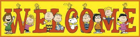 Image result for snoopy welcom