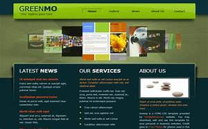 free jquery black green business website template With html templates free download