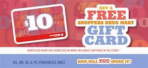 Shoppers Drug Mart Offer: Get Free $10 Gift Card When You ...