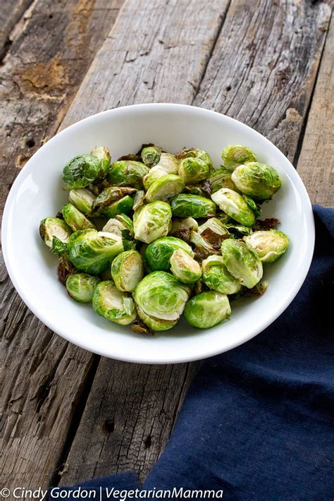 sprouts fryer brussel air crispy recipe recipes delicious brussels vegetarianmamma sprout healthy cooking history vegetarian vegan fried