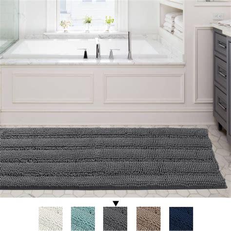 striped shaggy long rugs  bathroom cozy shag collection