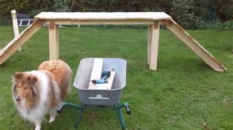 hundespielzeug selber bauen hunde agility ger 228 te f 252 r gro 223 e hunde selber machen und doovi