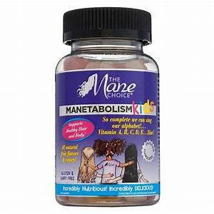 The Mane Choice® Manetabolism KIDS Healthy Hair Vitamins ...