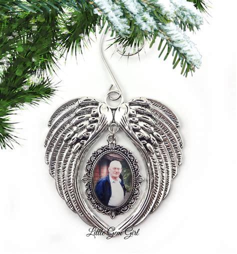 Custom Photo Memorial Christmas Tree Ornament Personalized