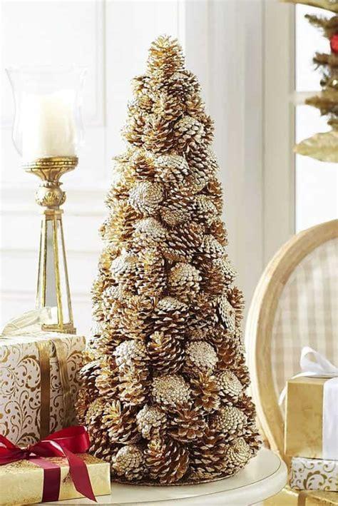 holiday pine cone craft ideas diy cozy home
