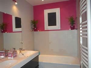 Peinture Salle De Bain Carrelage : peinture carrelage salle de bain avant apres ~ Dailycaller-alerts.com Idées de Décoration