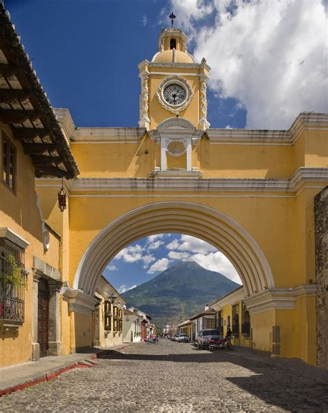 The Westin Camino Real Guatemala—arch Street In Antigua G