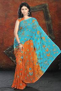 Color Blouse Design Images Beautiful Colorful Saree Designs 2010 2011 Free Wallpapers