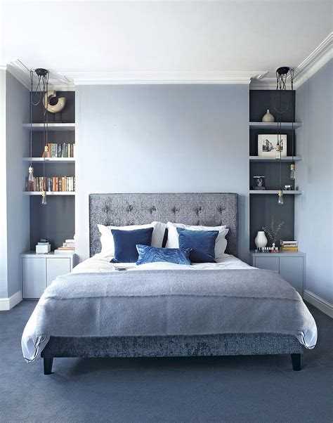 light blue and gray bedroom gray and blue bedroom ideas 15 bright and trendy designs 19026