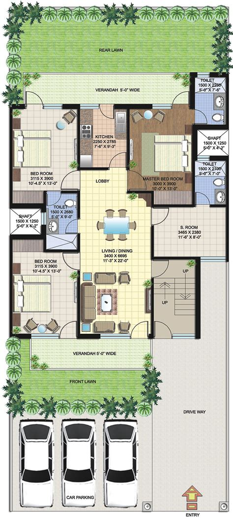 Pottery Barn Kitchen Ideas - duplex house plans in 250 sq yards home deco plans