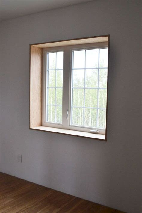 White Window Ledge by This Method Of Trimming A Window Home Renovations