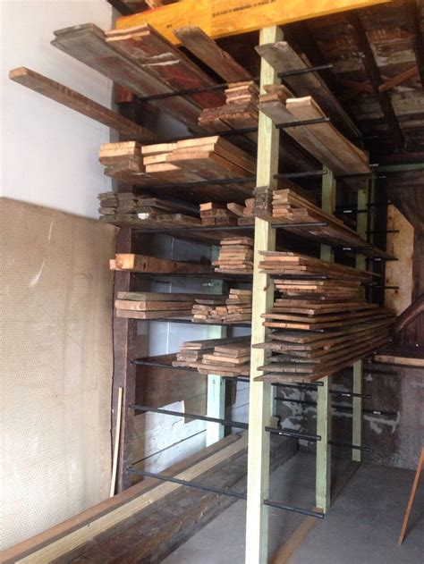frame lumber storage rack plans woodworking projects