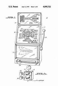 Patent Us4099722 - Electronic Slot Machine