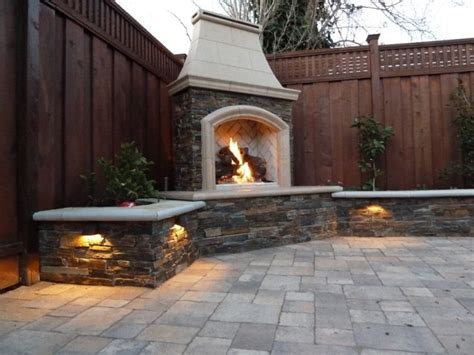 Backyard Fireplace Ideas by 30 Ideas For Outdoor Fireplace And Grill