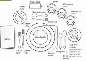 56 Examples Of Table Settings  Table Setting Example 9