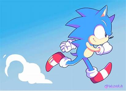 Sonic Hedgehog Boom Animation Running Abyss