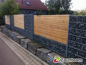 Holz U Profil : zaun und tor referenzen von zaunteam gabionen 73557 mutlangen zaunteam ~ Frokenaadalensverden.com Haus und Dekorationen