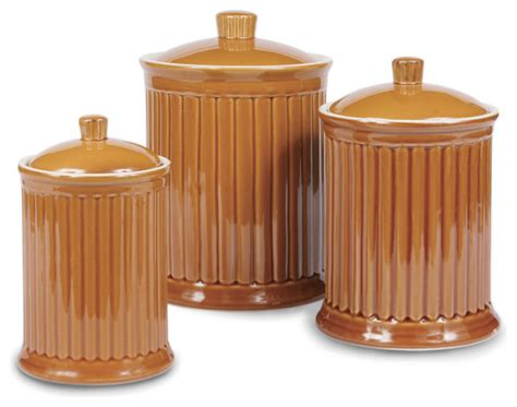 kitchen canisters and jars shop houzz omniware simsbury canisters citron set of 3
