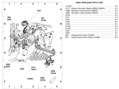 Ford Taurus Exhaust System Diagram Wiring Forums