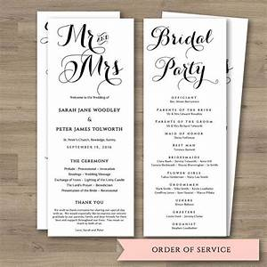 17 best ideas about order of service template on pinterest With wedding ceremony order of service template free