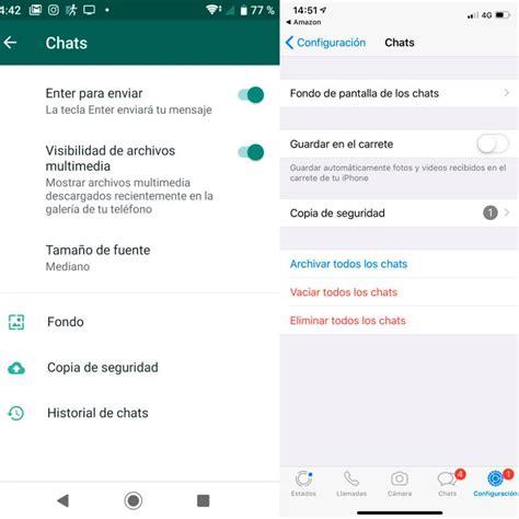 whatsapp como cambiar el fondo de pantalla de los chats