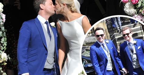 Now it's Ali and Dec! Stunning pictures, dress, first kiss ...