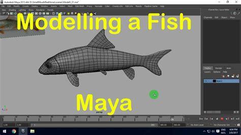 modelling fish  maya part  youtube