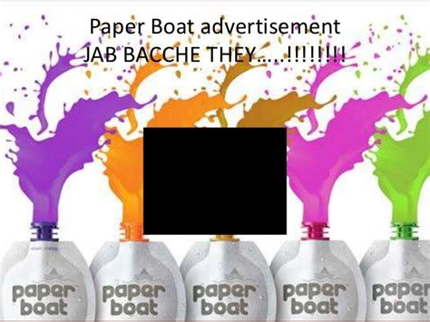 Paper Boat Drinks Manufacturers by Hector Beverages Paper Boat