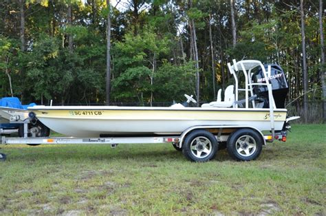 Yellowfin Skiff 17 by 2008 Yellowfin 17 Skiff With Merc 115 And Trailer 21 900