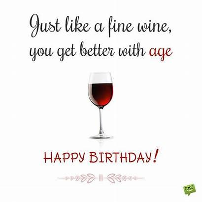 Birthday Wine Happy Wishes Fine Husband Age