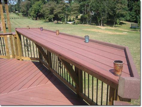 Deck Railing Bar Top