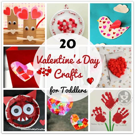 easy valentines day crafts  toddlers