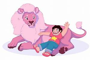 Steven and His Lion by StoryShepherd on DeviantArt