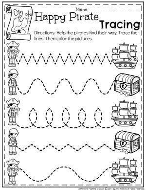 summer preschool worksheets planning playtime pirate activities preschool summer preschool