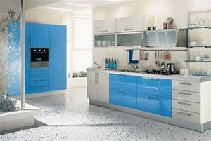 20 modern kitchen designs blog of top luxury interior for Blue kitchen designs