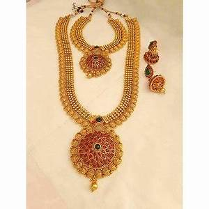 Buy ! GRAM GOLD NECKLACE For WEDDING Online - Get 0% Off