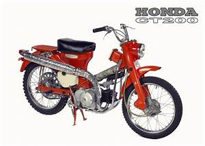 Honda Poster Classic Ct200 Ct90 Suitable To Frame