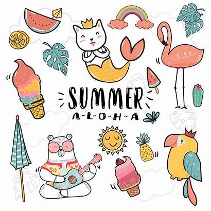Summer Draw Hand Illustration Doodle Vector Icon
