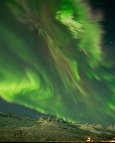 northern lights during solar beautiful