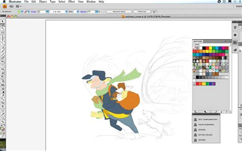 desktop programs  drawing illustrating