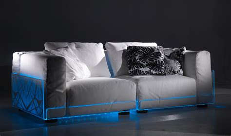 Versatile Sofa With Built-in Mood Led Lights