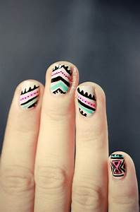 20 best images about Hand-Drawn Nails on Pinterest | Nail ...