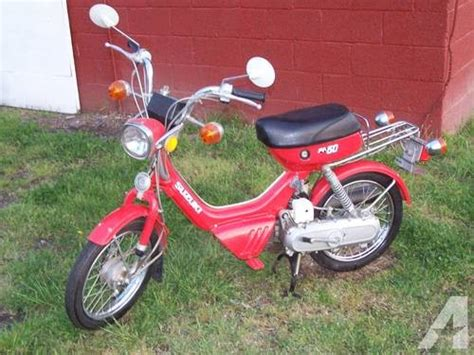 50cc Suzuki by 1982 Suzuki 50cc Scooter Moped Has Only Been Ridden 63