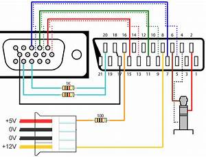 Jvc Av 27220 Color Tv Schematic Diagram