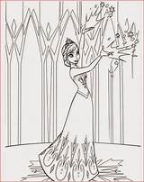 Castle Coloring Frozen Pages Elsa Printable Disney Movie Ice Filminspector Let Go sketch template