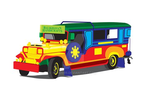 philippine jeep clipart jeepney vector art by blind099 on deviantart