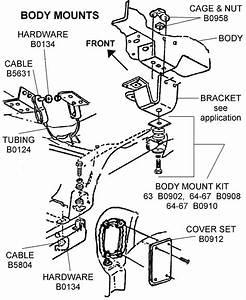 Body Mounts - Diagram View